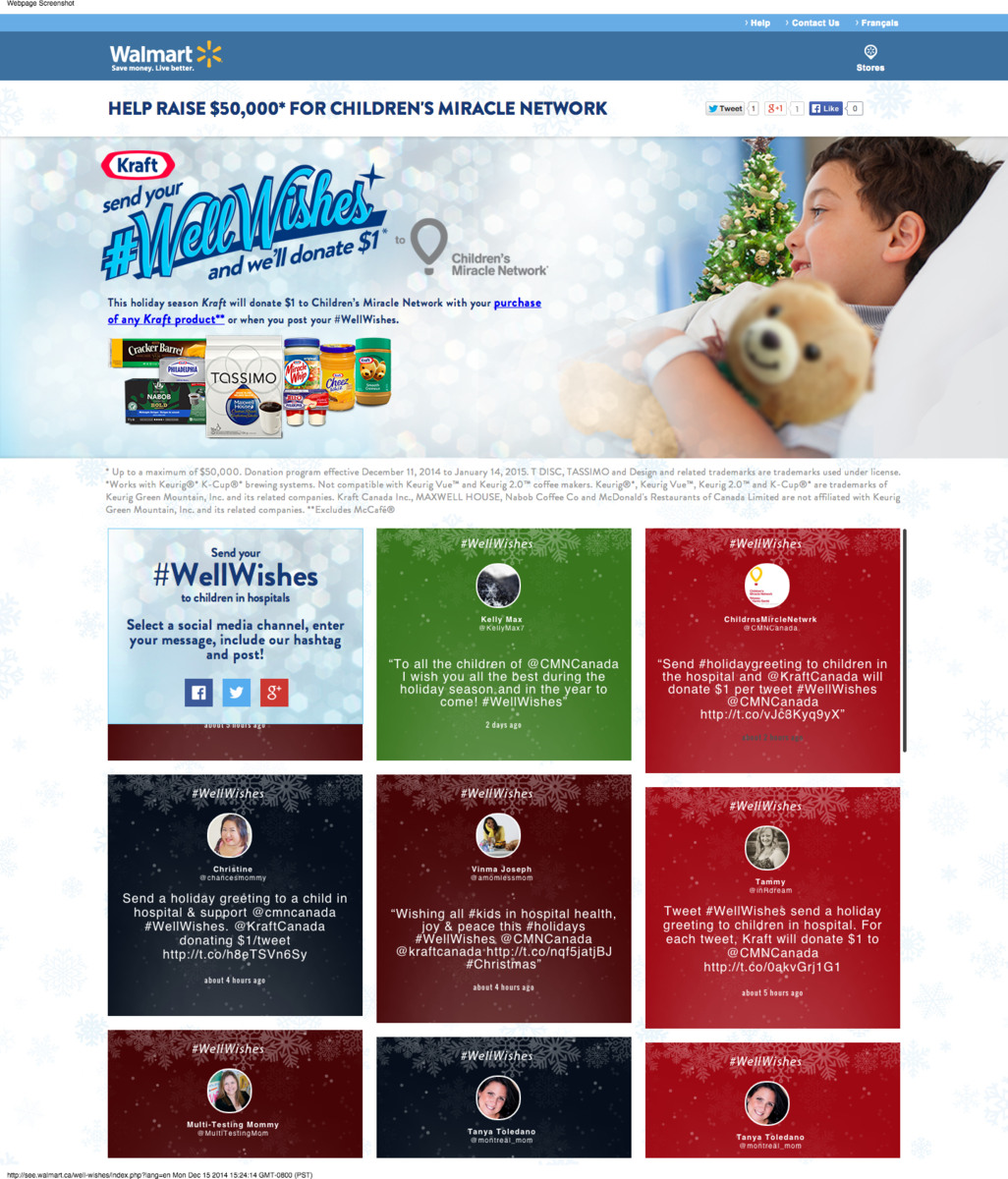Holiday social media marketing campaigns