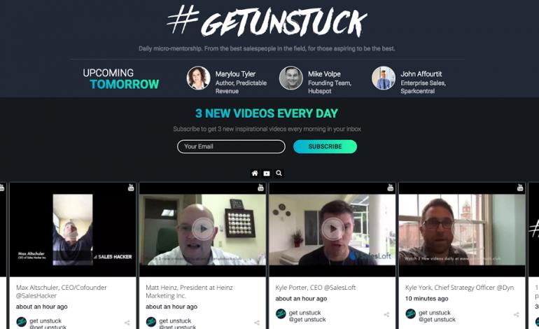 TINT Case Study: Sales Millennials' #getunstuck Campaign