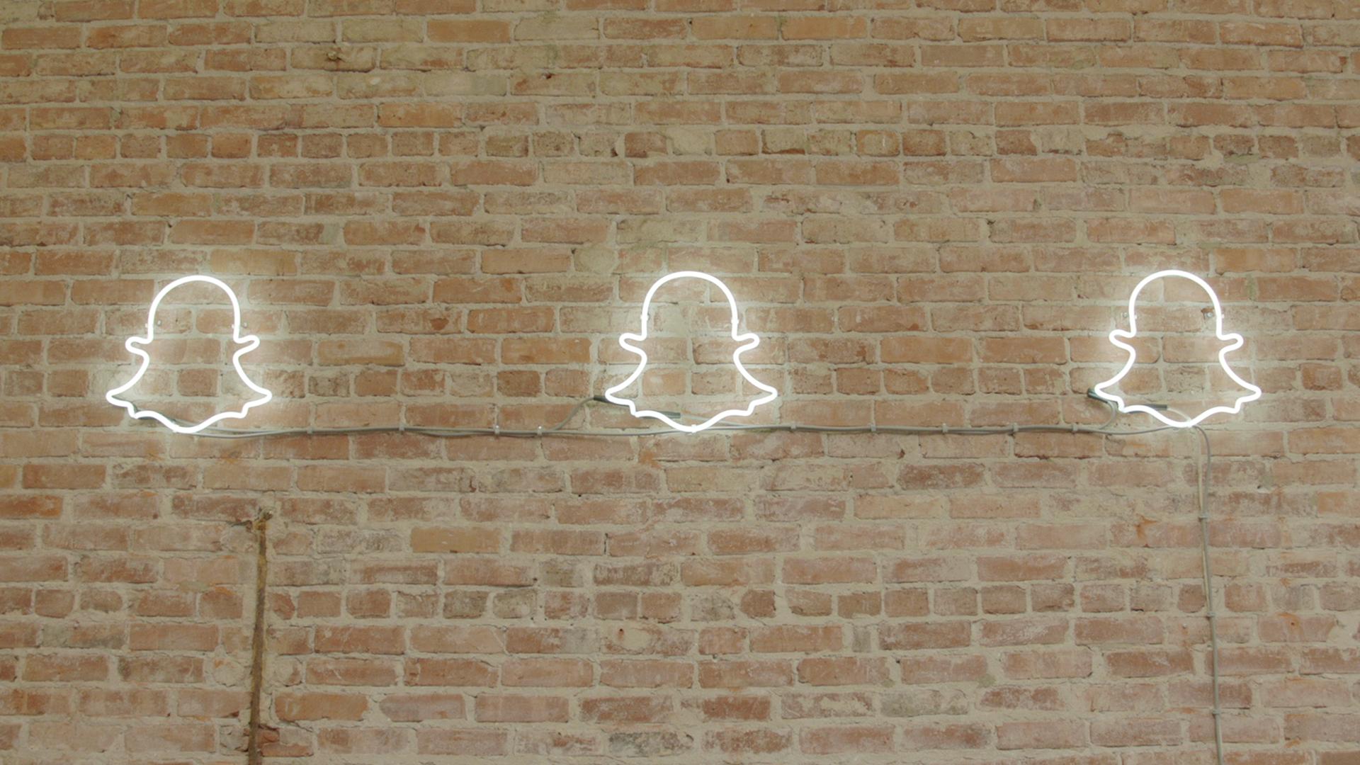 Snapchat Ghost Wall