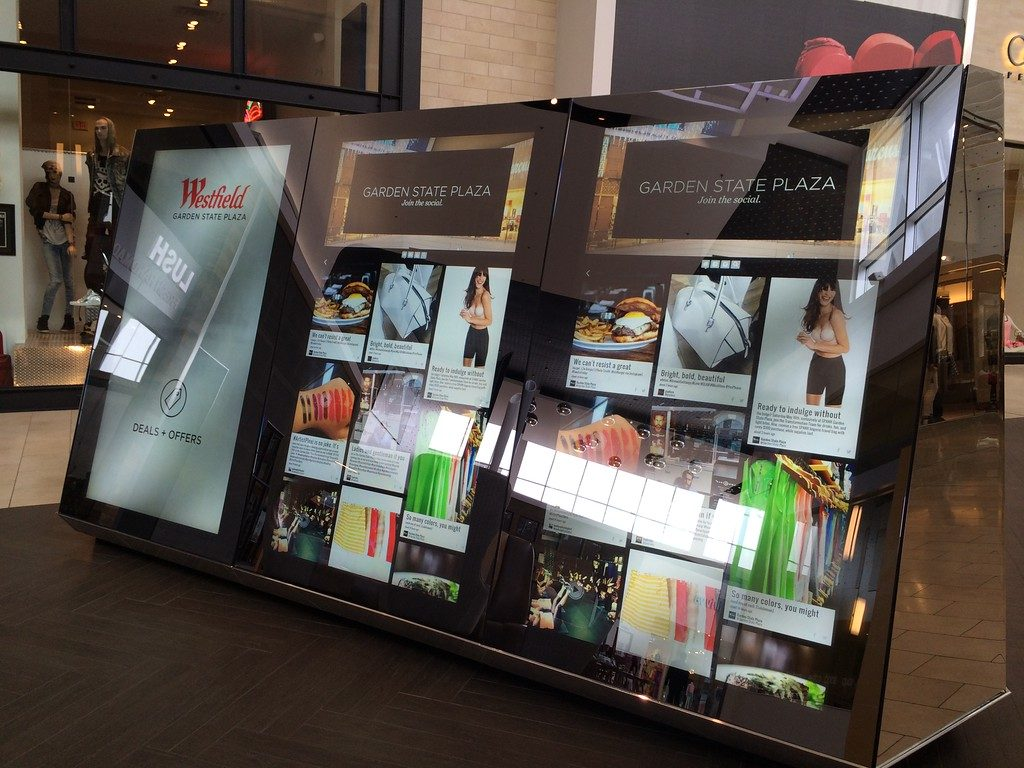 interactive mall kiosks