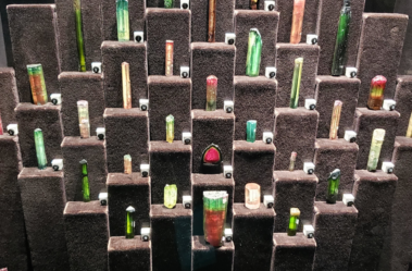 sorted multicolored gemstones