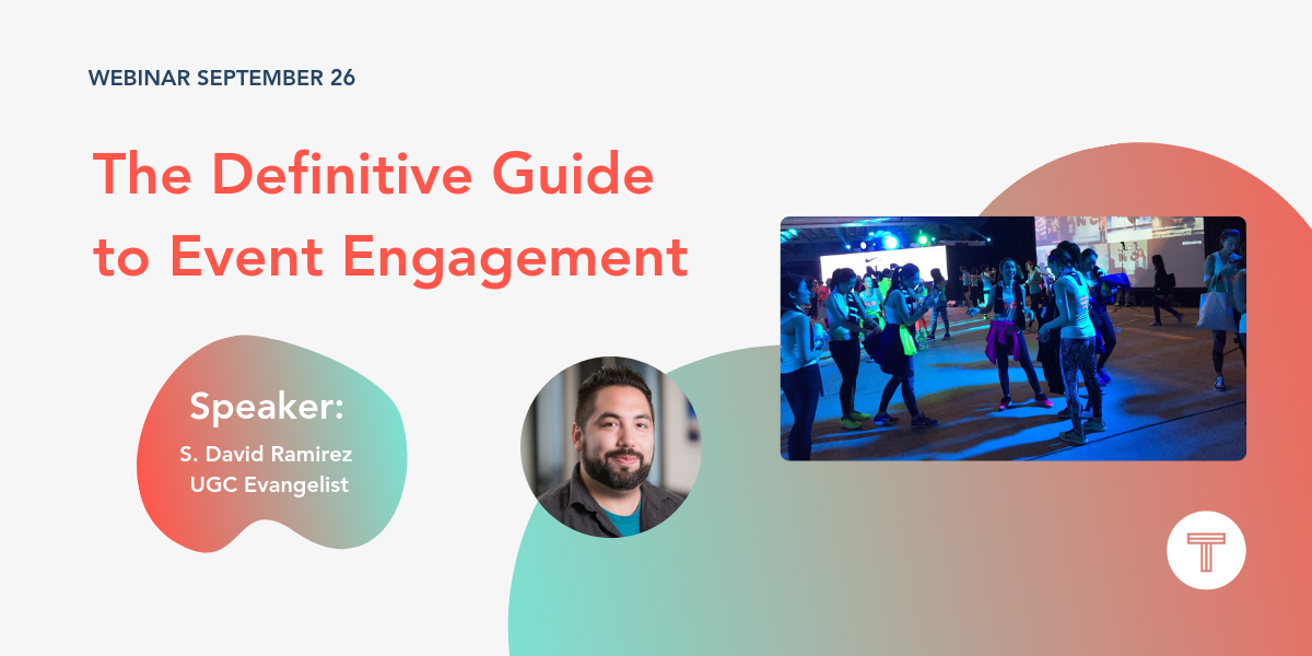 The Definitive Guide to Event Engagement webinar