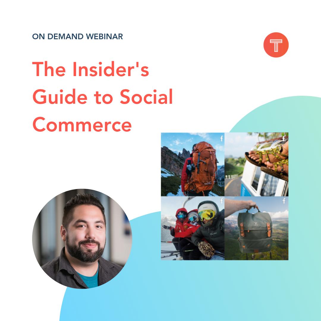 The Insider's Guide to Social Commerce webinar