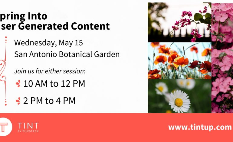 Spring into UGC at the Botanical Gardens [In-Person Training]
