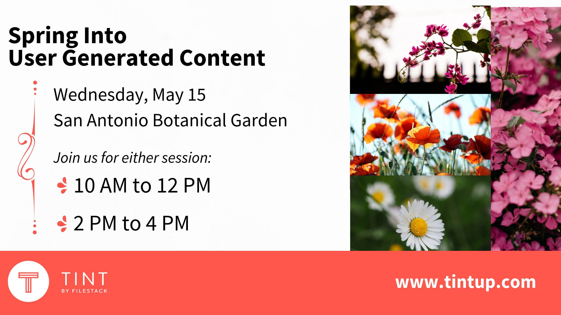 Spring Into User Generated Content Facebook Cover Tint Blog