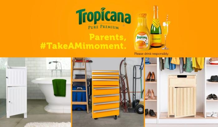 Tropicana #takeamimoment ad