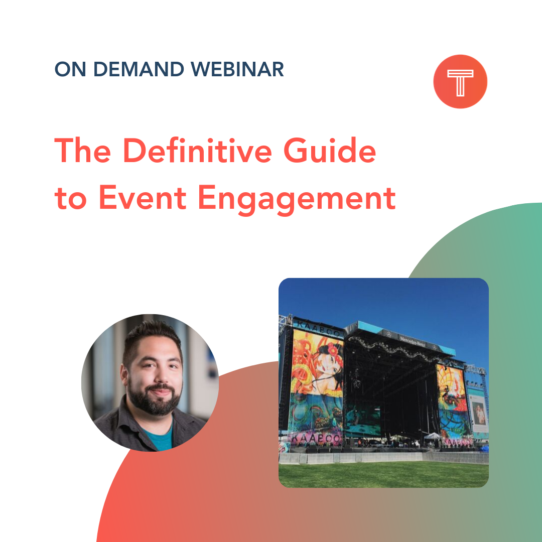 TINT Webinar on Event Engagement