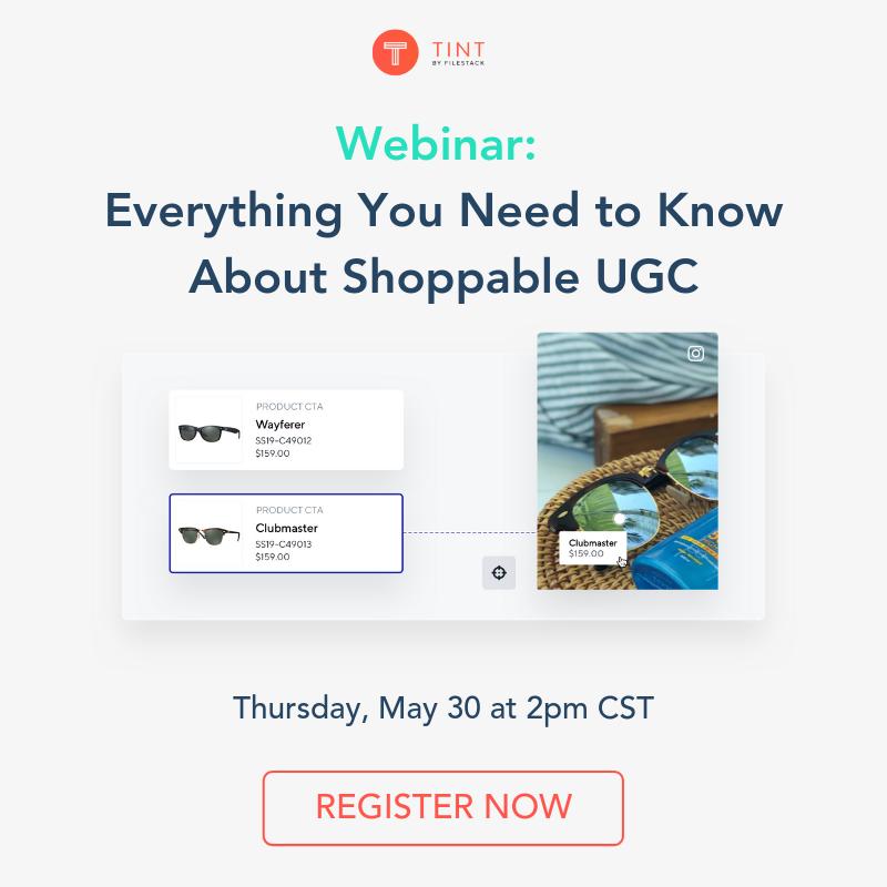 Shoppable UGC