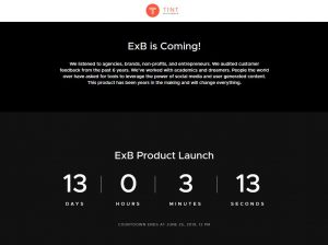 ExB is Coming – Countdown to Launch
