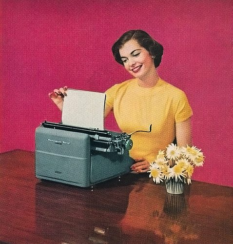 secretary-typing