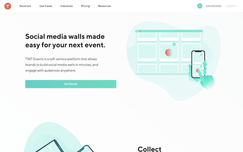 tint social wall